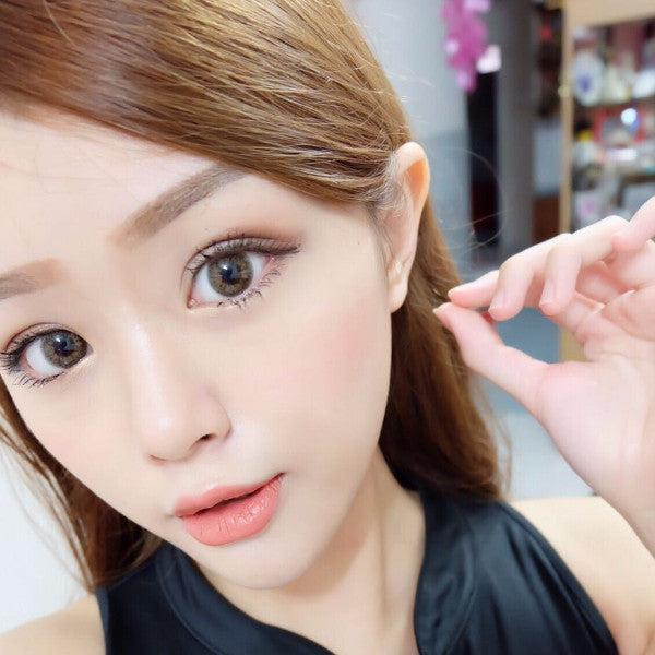 Oh My Starry Brown 15mm Contact Lens Malaysia Online Murah- Barbie Eyesland