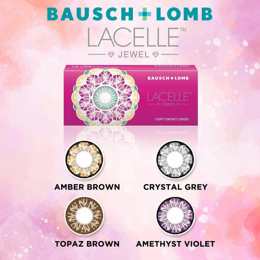 Bausch & Lomb Lacelle Jewel Crystal Grey