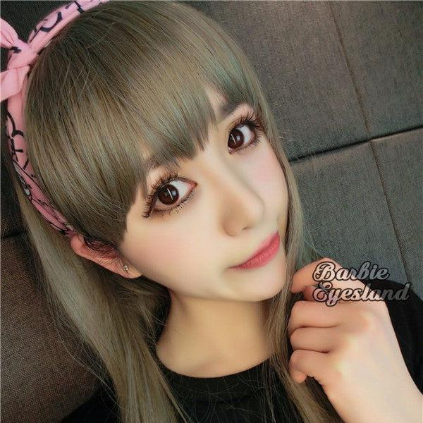 Oh My Cicie CHOCO 13.8mm-Contact Lenses-Barbie Eyesland Contact lens