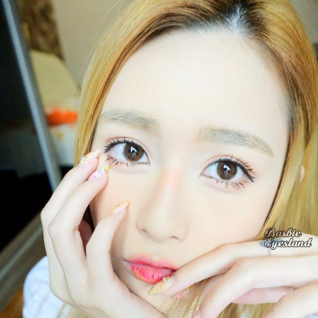 Oh My Cicie LIGHT CHOCO 13.8mm-Contact Lenses-Barbie Eyesland Contact lens