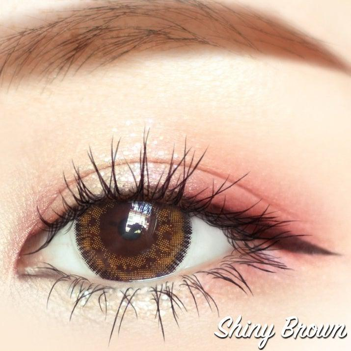 Shiny brown 14.5mm