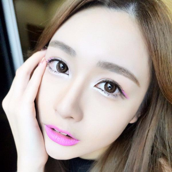 Oh My Darling BROW Contact Lens Malaysia Online Murah- Barbie Eyesland