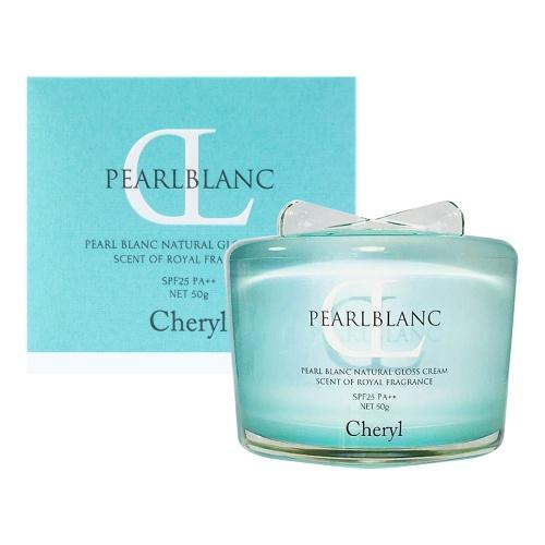 Cheryl Pearl Blanc Natural Gloss UV Cream SPF25-Beauty Products-Barbie Eyesland Contact lens