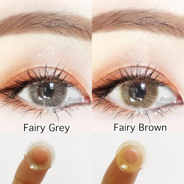 Fairy GREY 14mm-Contact Lenses-Barbie Eyesland Contact lens