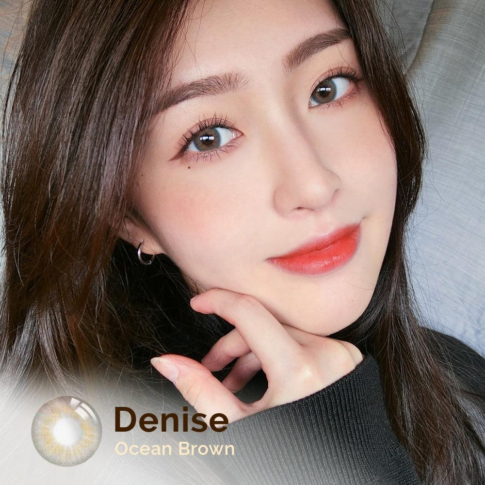 Denise Ocean Brown 14.2mm