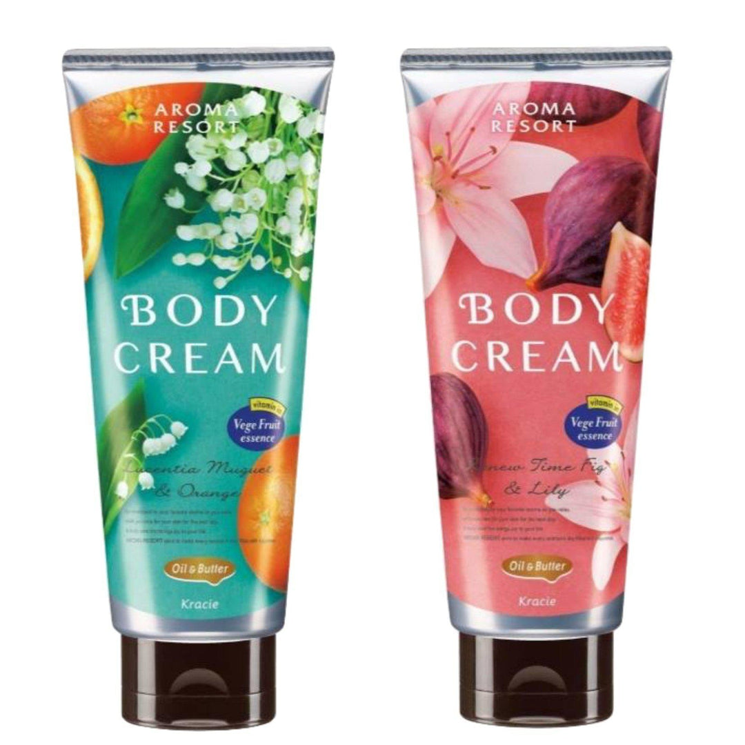 Kracie Aroma Resort Body Cream 170G