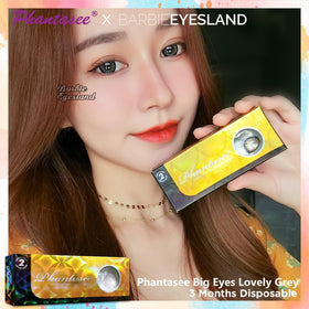 Phantasee Big Eyes Lovely Grey