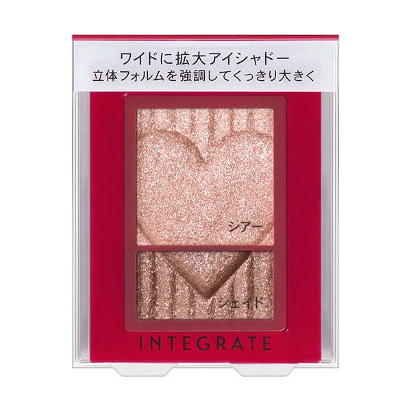 [SHISEIDO INTEGRATE] Wide Look Eyes Duo Shades Eyeshadow 2.5g-Beauty Products-Barbie Eyesland Contact lens