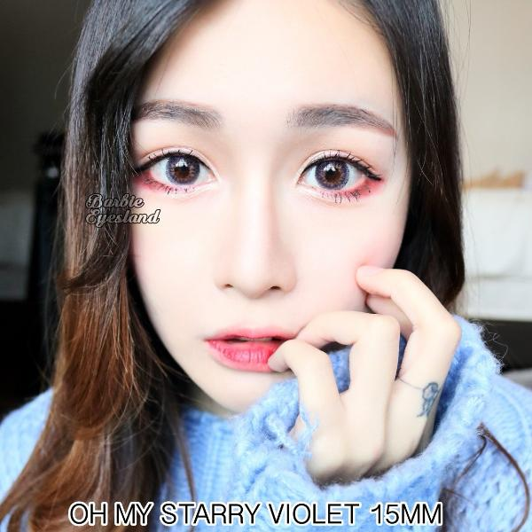 Oh My Starry Violet 15mm