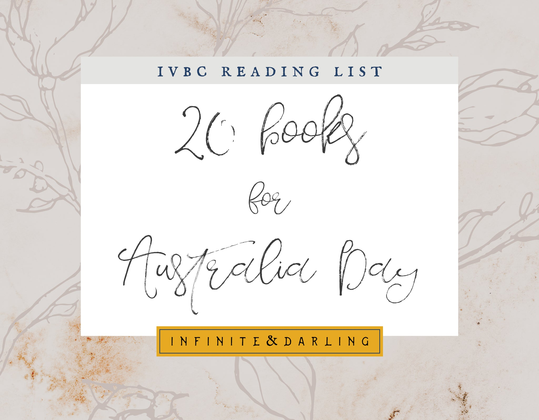 20 Books to Celebrate Australia Day