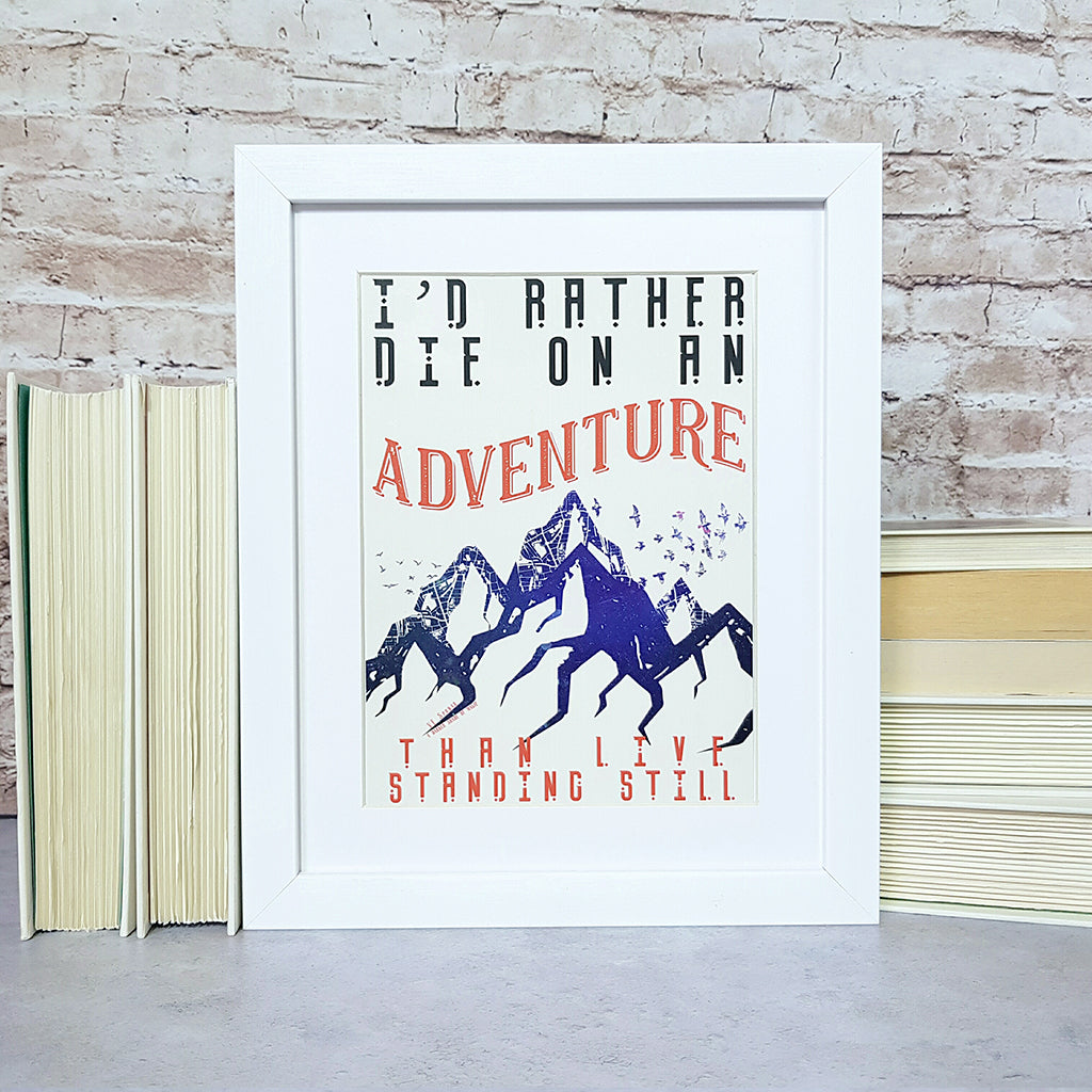 ADSOM Literary Quote Art Print