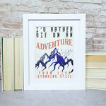 ADSOM A Darker Shade of Magic inspired literary gift art print