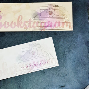 #Bookstagram Community Inspired Bookmarks