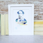 Charles Dickens A Christmas Carol Book Quote Art Print