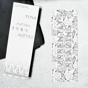 Colouring In Book Review Bookmarks