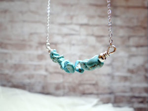 December Birthstone Turquoise Necklace