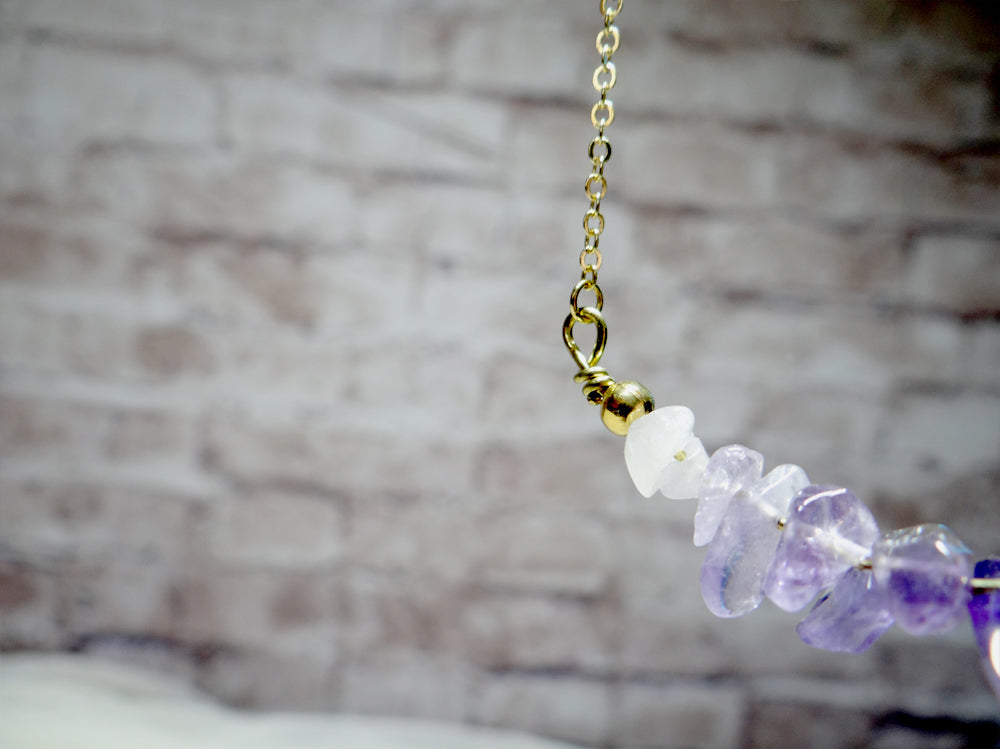 February Birthstone Amethyst Necklace