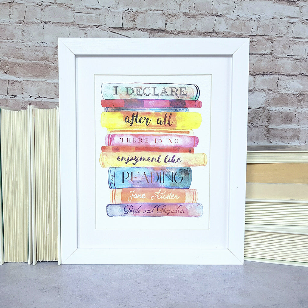 Jane Austen 'Pride and Prejudice' Print