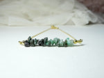 May Birthstone Emerald Necklace