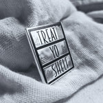 Treat Yo Shelf Book Lover Enamel Pin