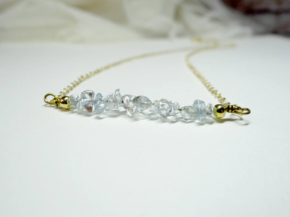 November Birthstone Topaz Necklace