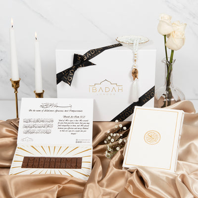 Nikkah Mubarak Gift Set - Ibadah London
