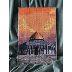 DIY Diamond Painting Art Kit - Masjid Aqsa - Ibadah London islamic muslim gift