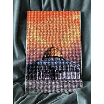 DIY Diamond Painting Art Kit - Masjid Aqsa - Ibadah London