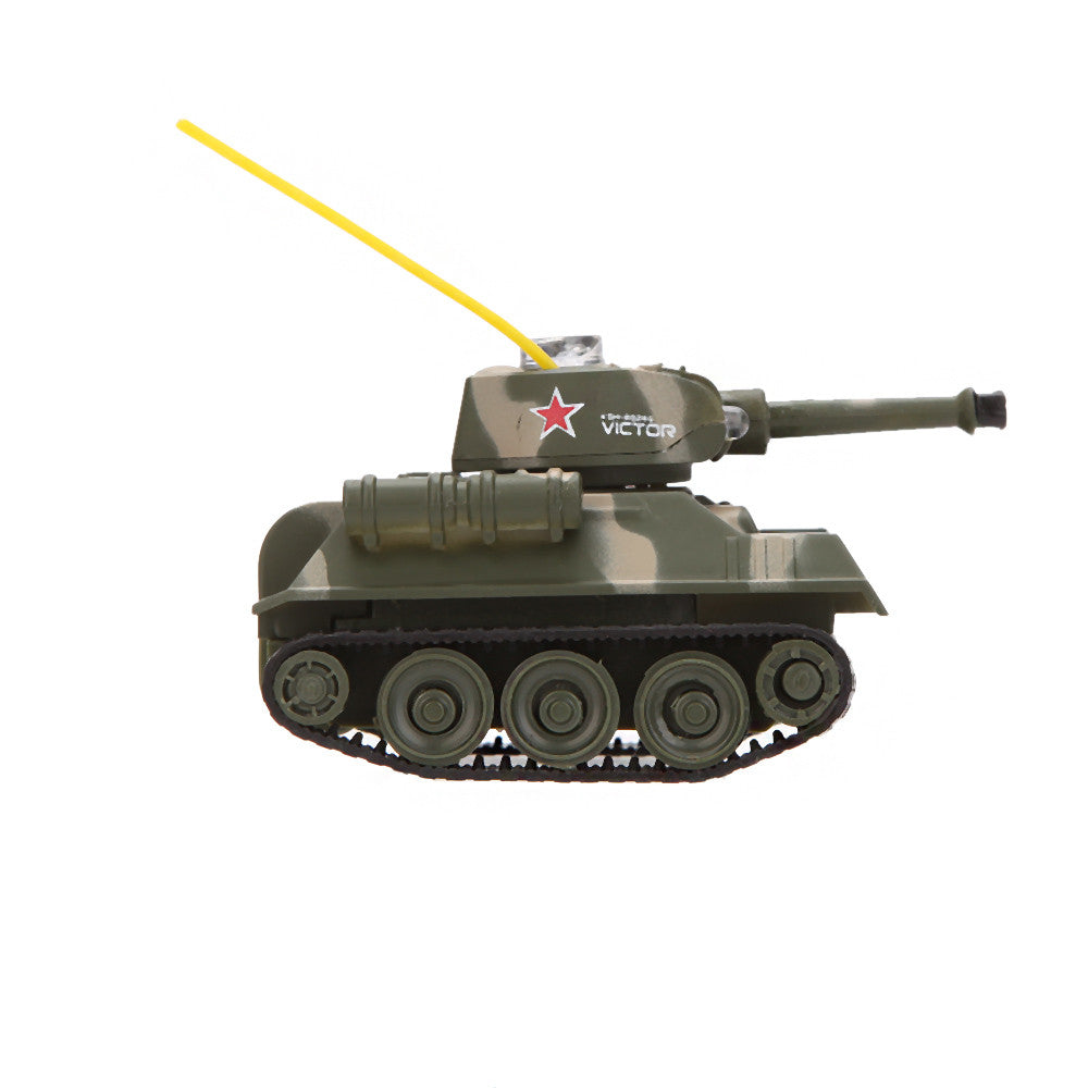 777 215 Tank 7 Mini Remote Control Toys RC With 27MHz Transmitter LED