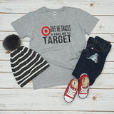 Give Me Snacks And Take Me To Target Tee - The  Little Reasons