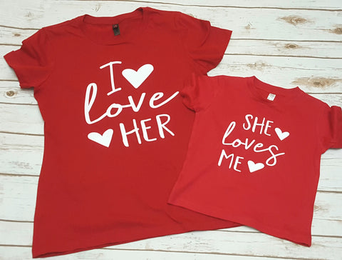 I love Her/Him Sibling Set - The  Little Reasons