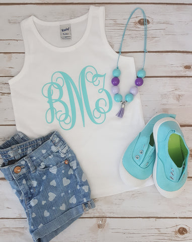 Monogram Tank - The  Little Reasons