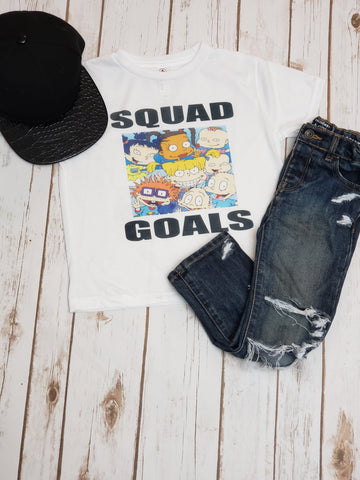 Rugrats Squad Goals Tee - The  Little Reasons