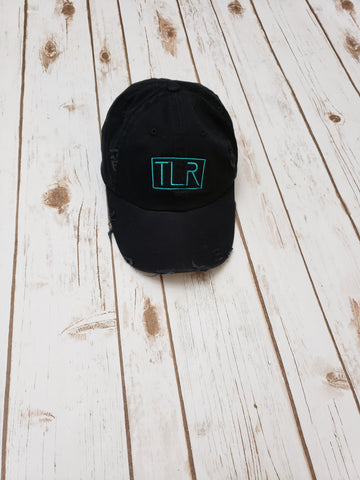 TLR LOGO Distressed Baseball Cap - The  Little Reasons