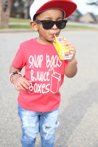 Snap Backs And Juice Boxes Tee - The  Little Reasons