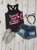 Tropical State of Mind Racerback Tank - The  Little Reasons