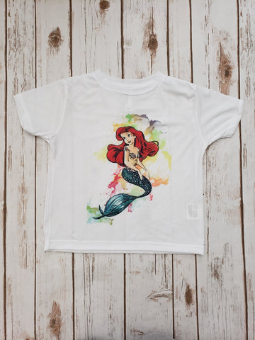 Watercolor Ariel Tee - The  Little Reasons