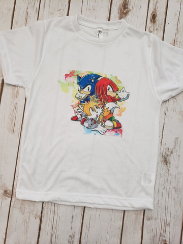Watercolor Sonic Tee - The  Little Reasons