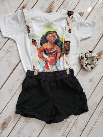 Moana Watercolor Tee - The  Little Reasons