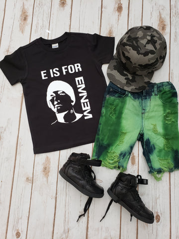 E is for Eminem Tee - The  Little Reasons