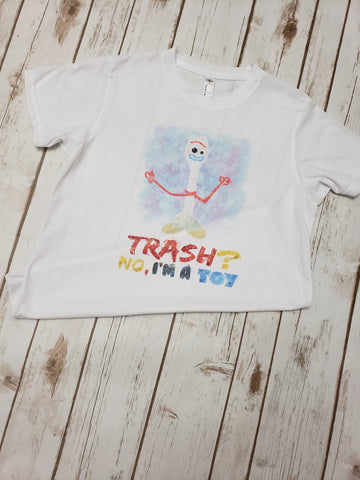 Forky Watercolor Tee - The  Little Reasons