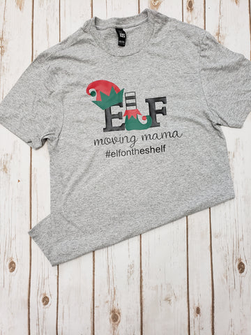 Elf Moving Mama Tee - The  Little Reasons