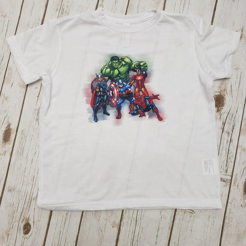 Avengers Watercolor Tee