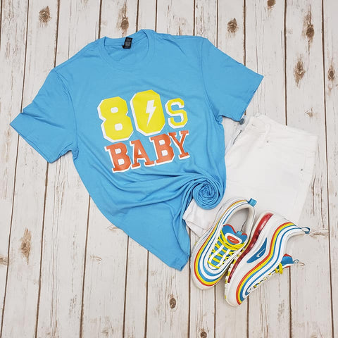 80s Baby Adult Tee - The  Little Reasons
