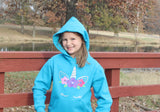 Floral Unicorn Pullover Hoodie - The  Little Reasons