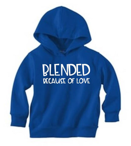Blended Because Of Love Pullover Hoodie - The  Little Reasons