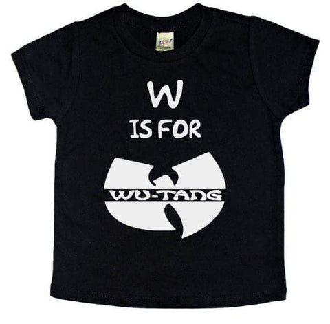W Is For Wutang Tee - The  Little Reasons
