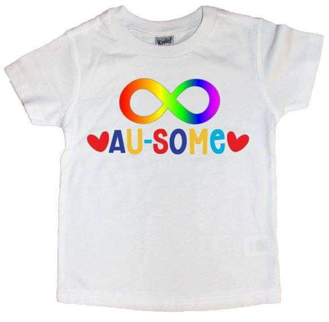 Au-Some Infinity Symbol Tee - The  Little Reasons