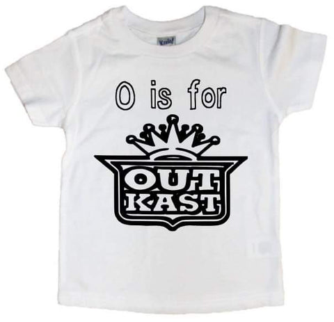 O is for Outkast Tee - The  Little Reasons
