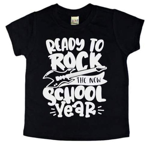 Ready To Rock The New School Year Tee - The  Little Reasons